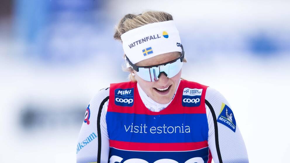 Stina Nilsson har inte skrivit av en VM-medverkan.