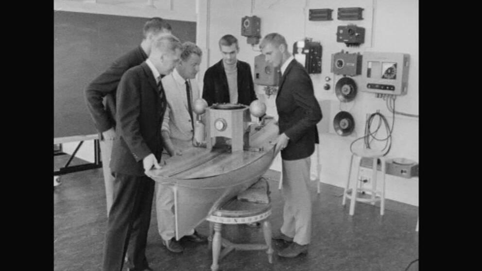 Så här kunde det gå till när det begav sig i tidigare upplagor av sjöfartsutbildningen i Härnösand.