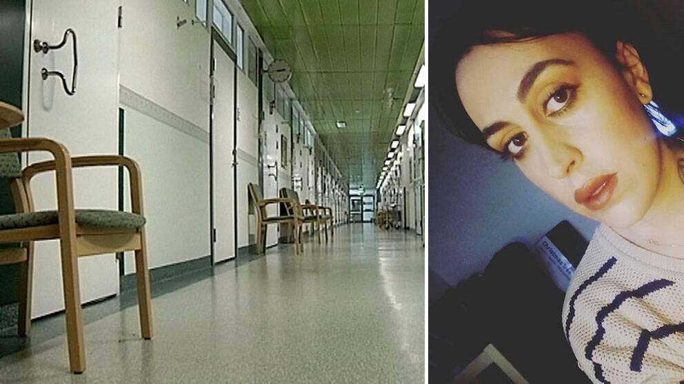 """""""Man känner sig oerhört maktlös"""", säger Simone, 29 år, som nekas behandling."""