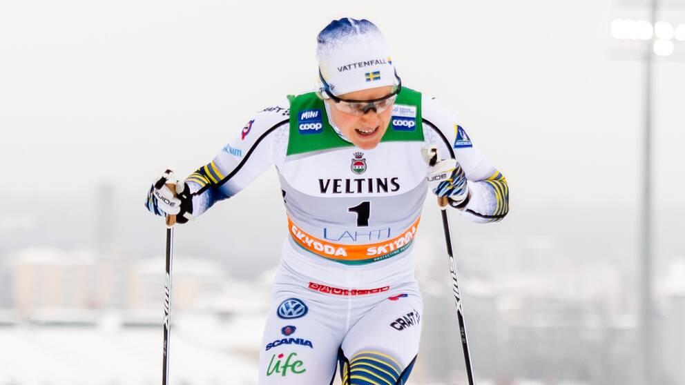 Hanna Falk får sista sprint-platsen i VM.