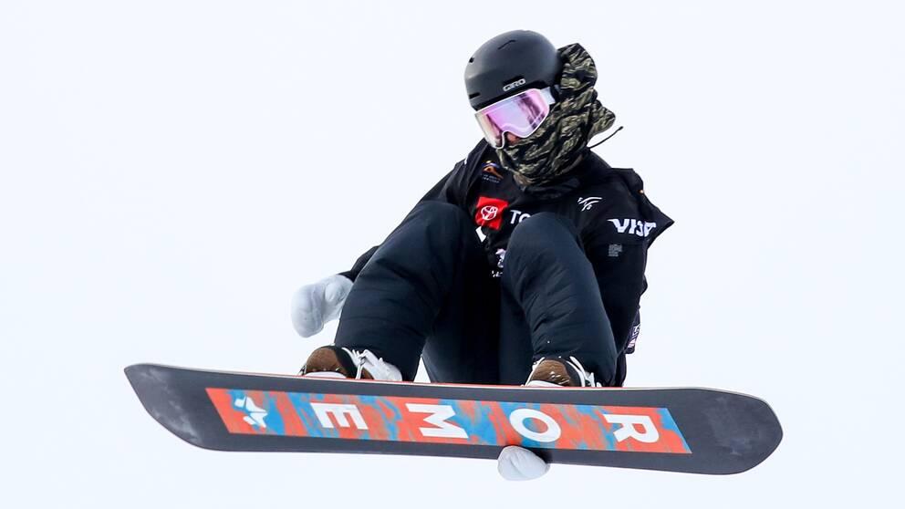 Niklas Mattsson åkte ut i semifinal i slopestyle.