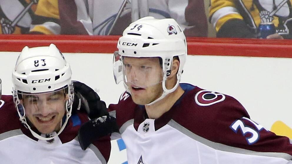 Carl Söderbergs tre poäng räckte inte till seger mot New York Islanders.