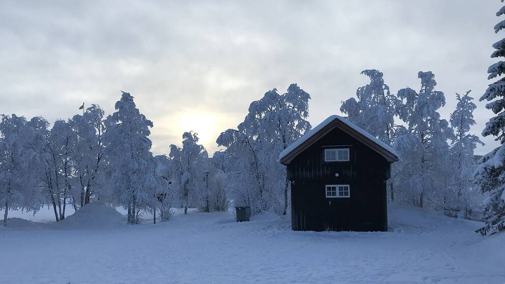 Jukkasjärvi 9 februari 2019.