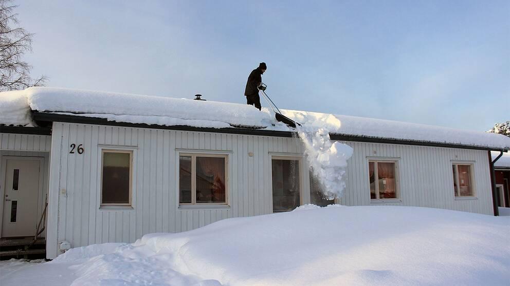 Boden Norrbotten den 9 februari 2019. Minus 13 grader.