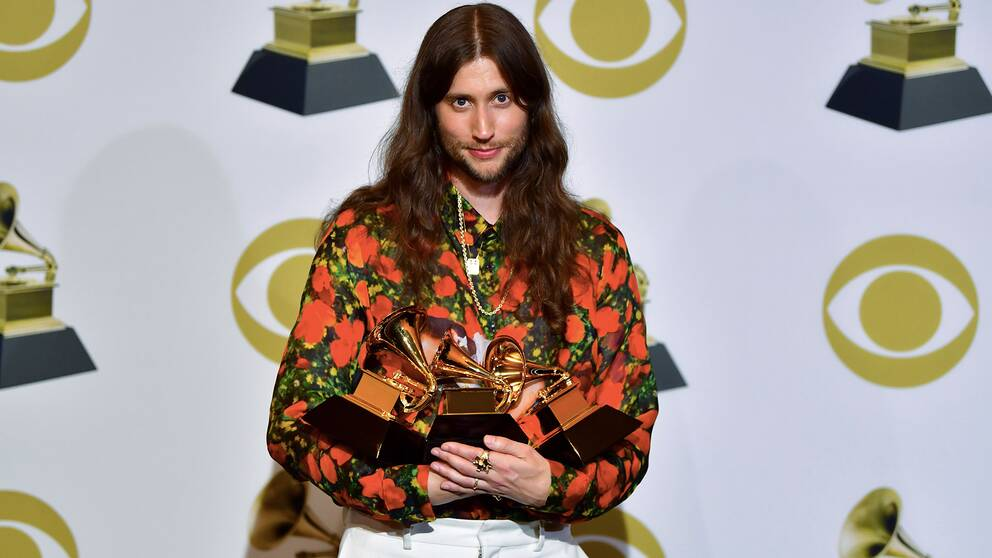 Ludwig Göransson prisades trippelt på årets Grammygala.