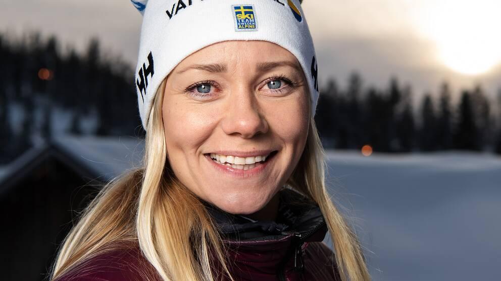 Frida Hansdotter går in i VM i Åre i morgon.