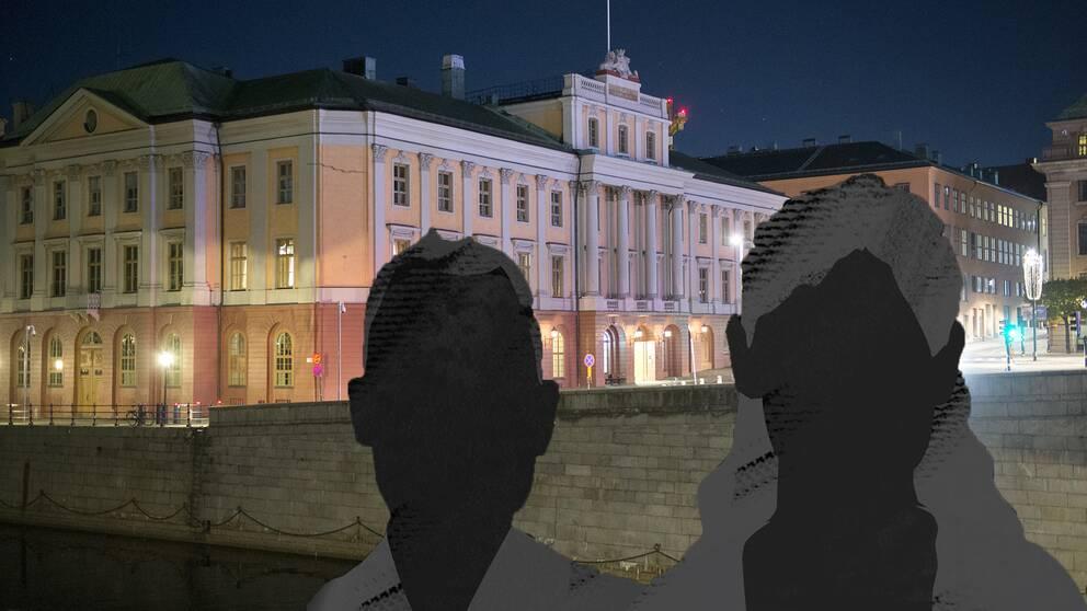 Utrikesdepartementet tillsatte en utredning i fallet med det asylsökande paret i Sverige