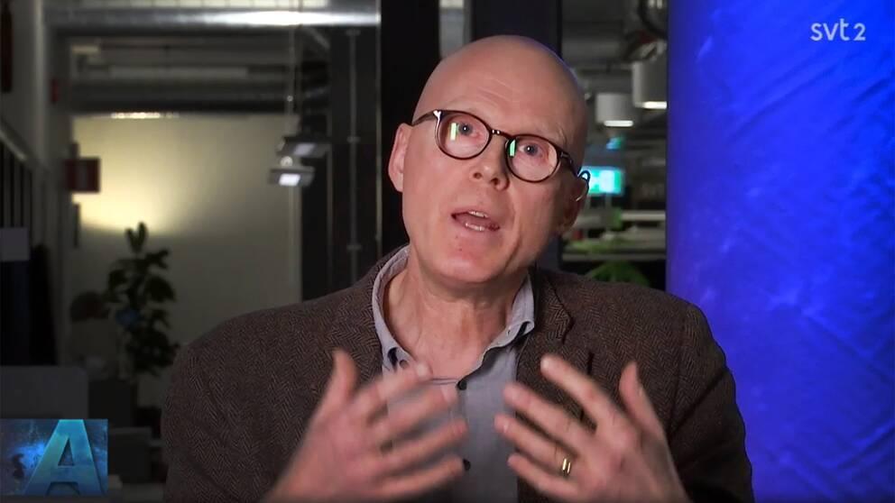 Statsvetaren Jonas Hinnfors kommenterade den stora S-striden i Göteborg i SVT:s Aktuellt