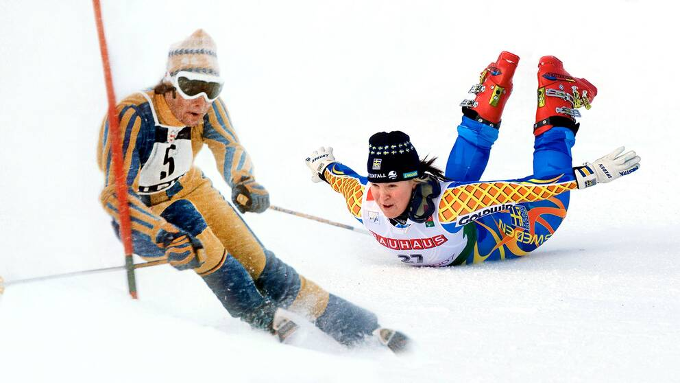 INgemar Stenmark och Anja Pärson