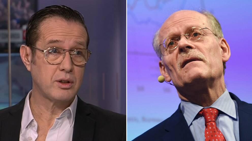 SVT:s Peter Rawet kommenterar räntebeskedet från Riksbankens Stefan Ingves