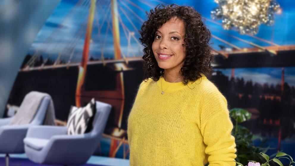 Pia Herrera, programledare i Go'kväll.