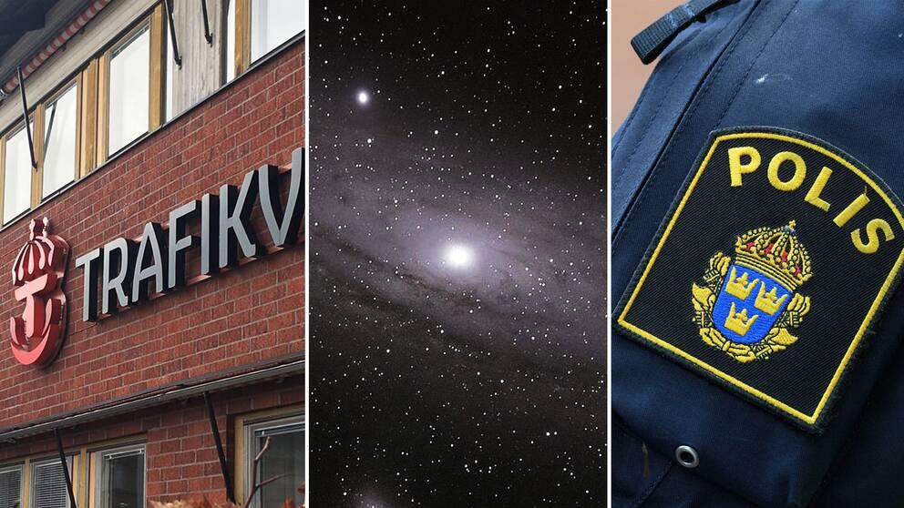 Ingen av instanserna som SVT kontaktar vet vad smällen som hördes i nordvästra Stockholm berodde på.