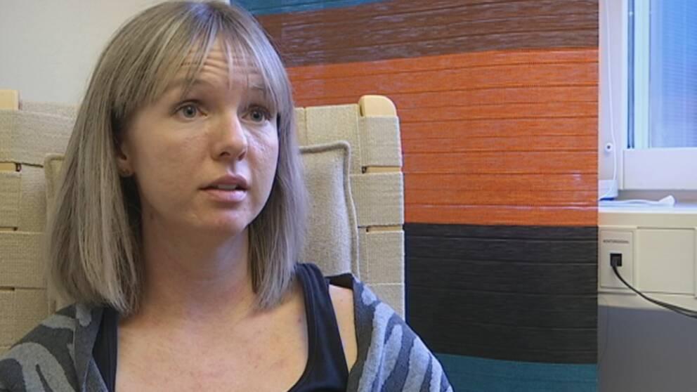 Rebecka Berg som är biträdande enhetschef på psykakuten i Jönköping