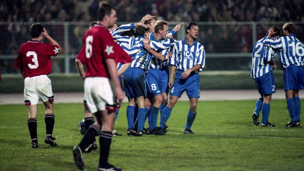 IFK Göteborg slog Manchester United med 3-11994.