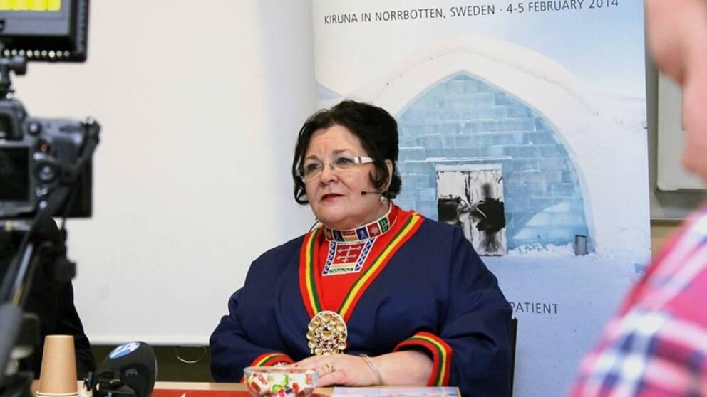 Tidigare regionrådet i Norrbotten, miljöpartisten, Agneta Granström
