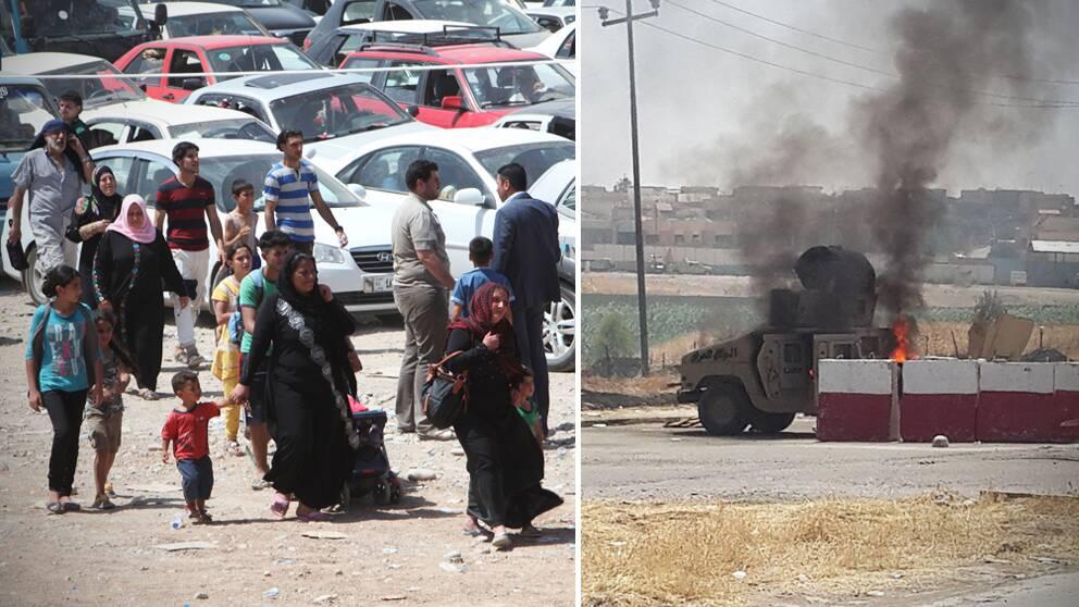 Nya bombattentat i irak