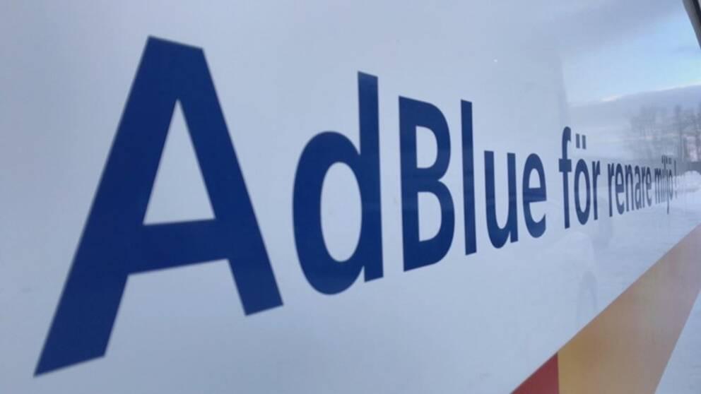 AdBlue har en fryspunkt på -11 grader Celsius.