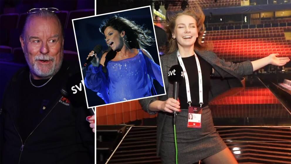 Masen Lorentz, senior supervisor, gör under lördagen sin 100:e sändning av Melodifestivalen