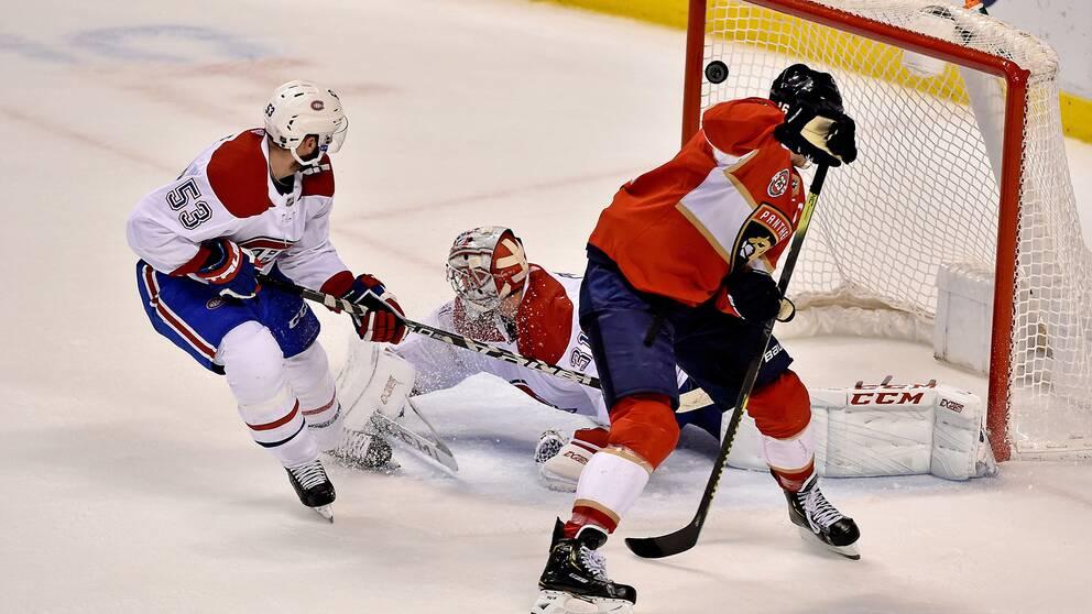 Floridas Aleksander Barkov avgör matchen mot Montreal med ett konstmål.
