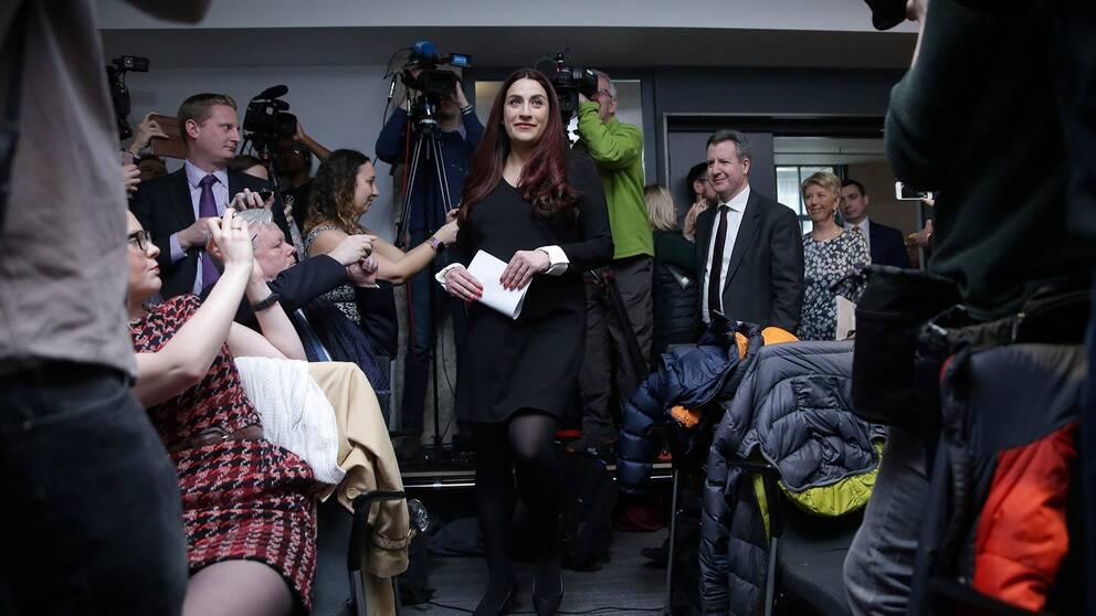 Luciana Berger är en av flera Labour-politiker som meddelade sina avhopp under måndagen.