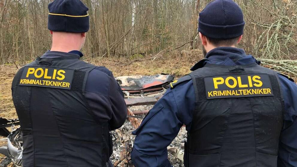 polisens kriminaltekniker i Emmaboda