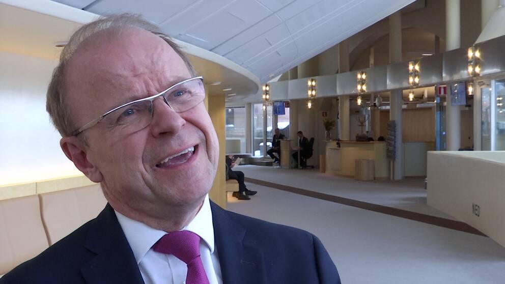 Kristdemokraternas försvarspolitiske talesperson Mikael Oscarsson