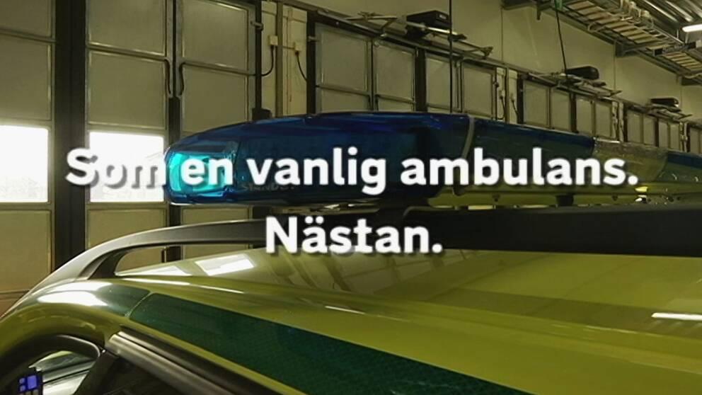 Ambulanssjukvrden Halland aktiverar single - Notified