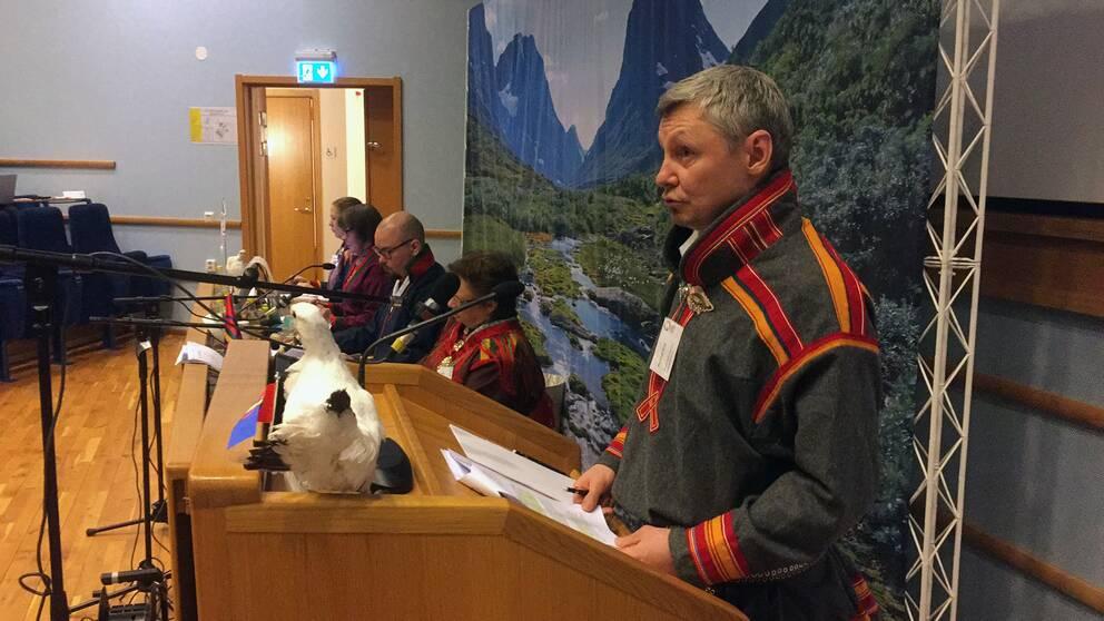 Talare i Sametinget Örnsköldsvik