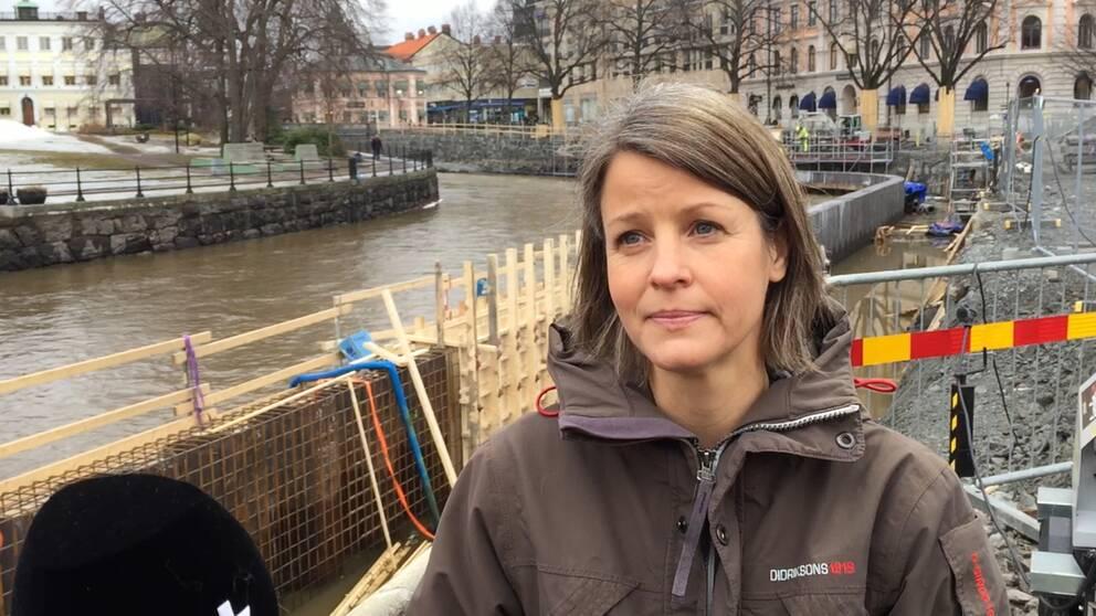 Susanna Hansen, vattensamordnare Västerås stad