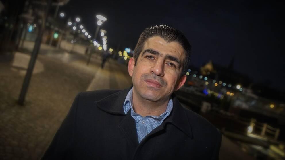 Abdulnaser är en av dem som nu polisanmäler den syriska regimen för krigsförbrytelser.