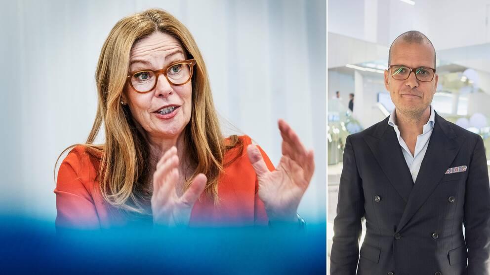 – Det är rimligt att Swedbanks vd Birgitte Bonnesen sitter kvar, anser sparekonomen Joakim Bornold, Söderberg & partners.