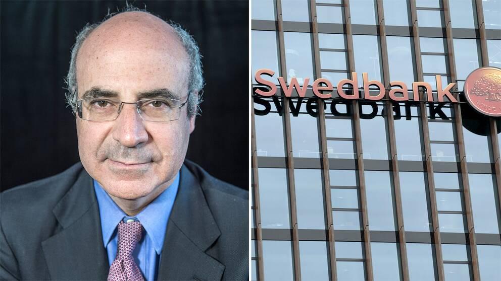 Bill Browder säger att han kommer polisanmälsa Swedbank. Arkivbild.