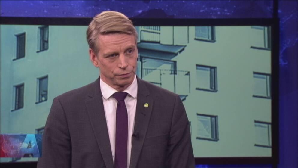 Bostads- och finansmarknadsminister Per Boplund (MP)