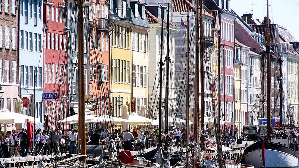 Köpenhamns pittoreska Nyhavn. Den danska huvudstaden har valts till världens bästa stad att bo i.