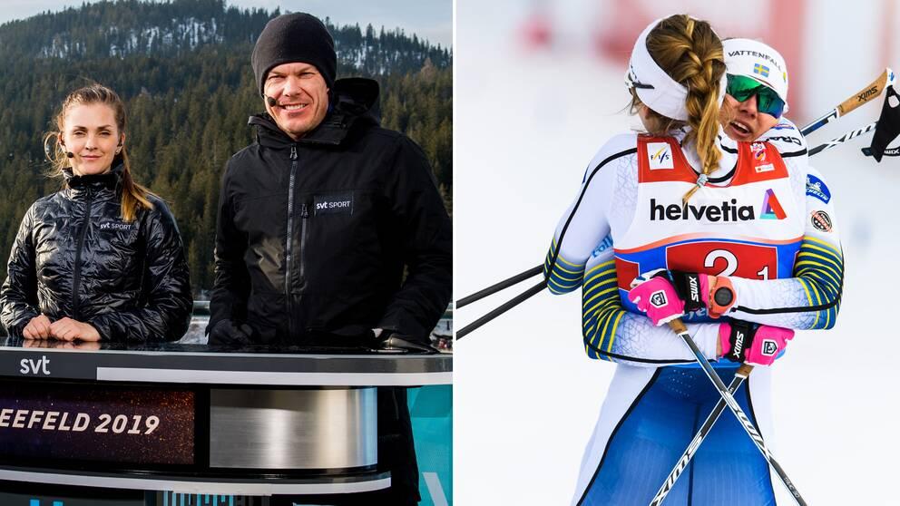 SVT:s experter Johanna Ojala och Mathias Fredriksson var imponerade.