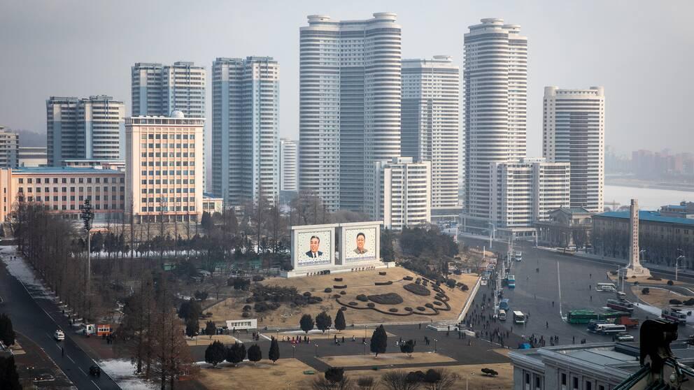 I Pyongyang kan man märka av en ekonomisk tillväxt.