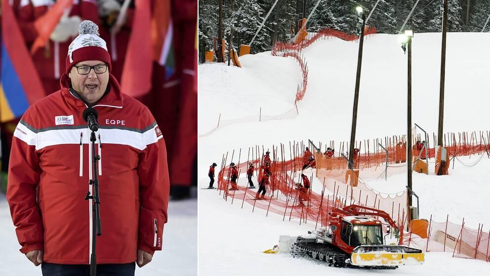Vd Niklas Carlsson får kraftig kritik för det ekonomiska misslyckandet under VM i Åre.