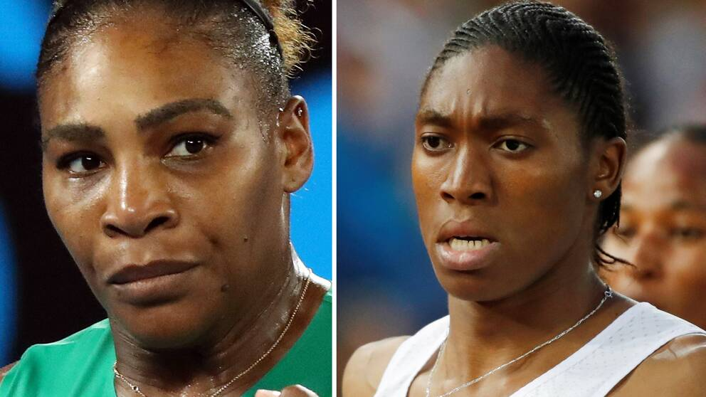 Serena Williams och Caster Semenya.