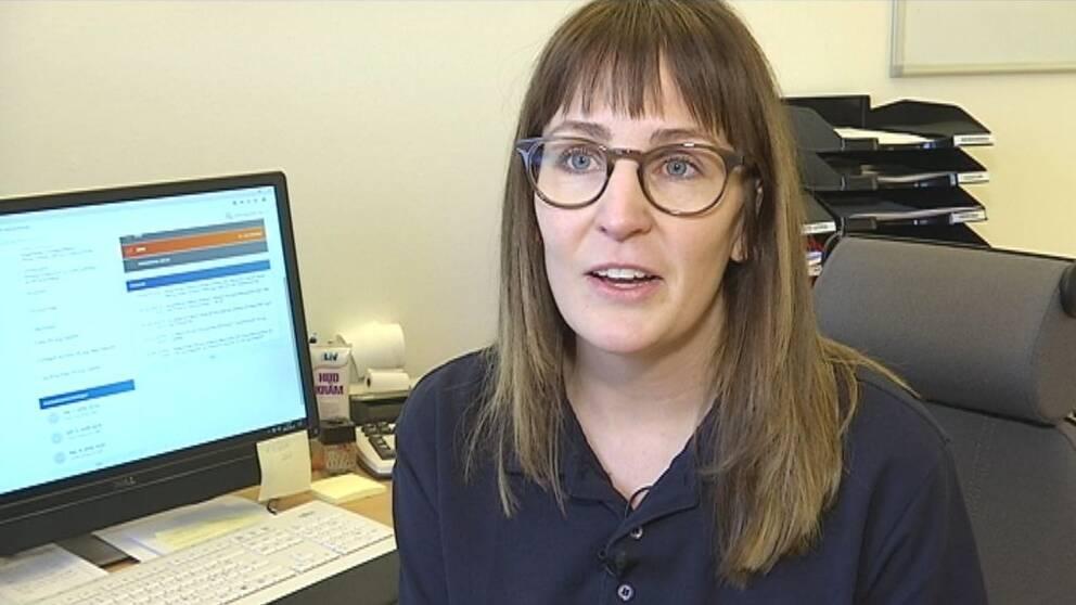 Linda Göransson driver på den digitala egenvården.