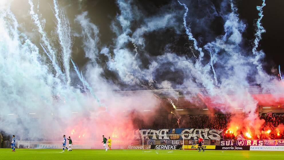 Gais tilldöms en skrivbordsseger med 3-0 efter söndagens avbrutna Svenska cupen-möte mot IFK Göteborg.