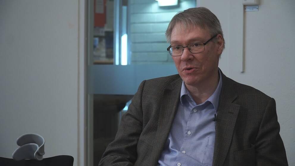 Förundersökningsledare Krister Petersson.