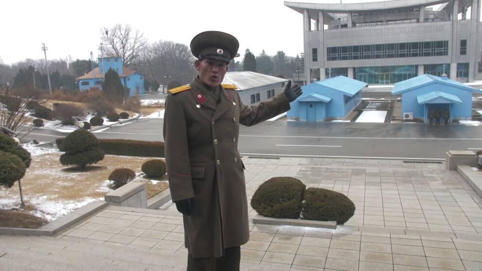 Huang Jing Mjong, löjtnant Nordkoreas militär
