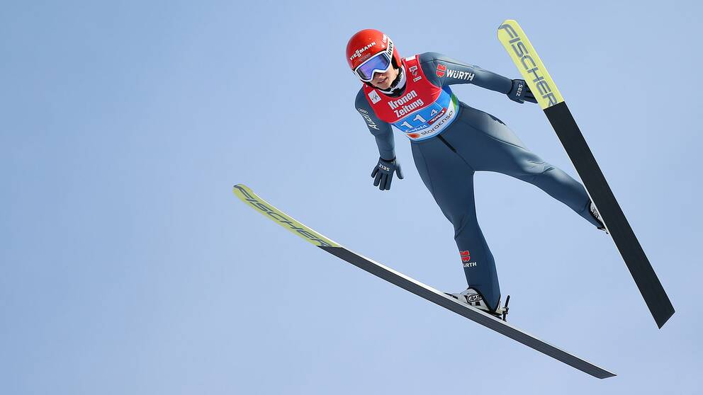 2019 FIS Nordic World Ski Championships, day 7, Ski Jumping Team Event: SEEFELD,AUSTRIA,26.FEB.19 – NORDIC SKIING, SKI JUMPING – FIS Nordic World Ski Championships, team event, normal hill, ladies. Image shows Katharina Althaus (GER)
