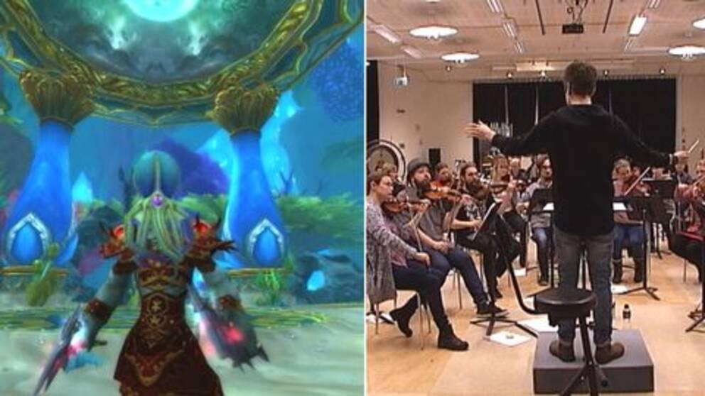 Luleå symfonoorkester framför dataspelsmusik