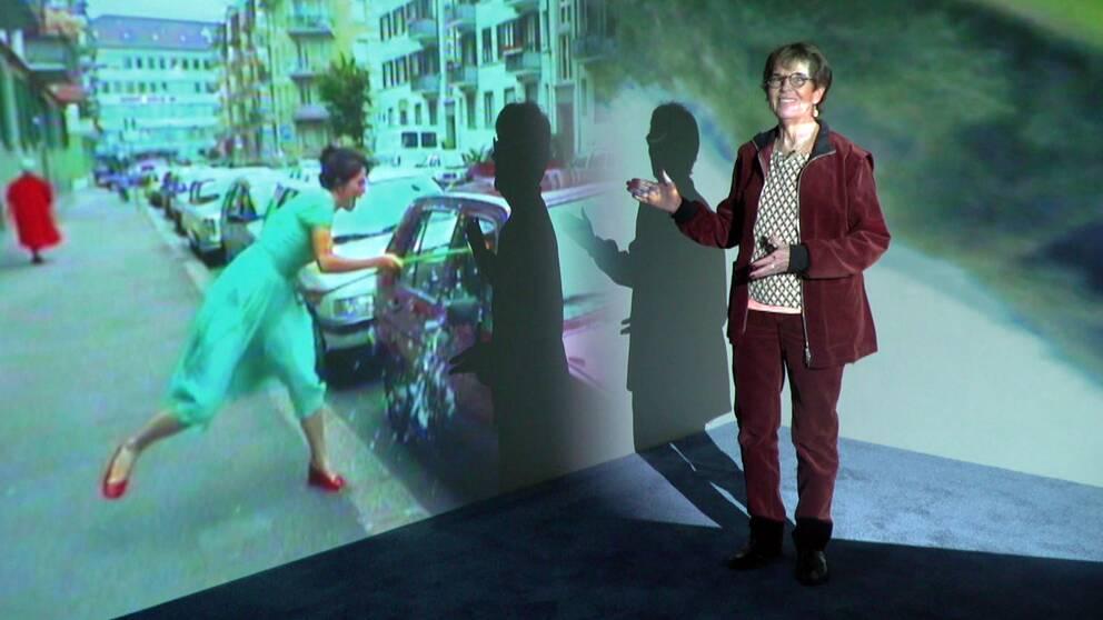 Ingela Lind besöker den första större utställningen med konstnären Pipilotti Rist i Skandinavien.