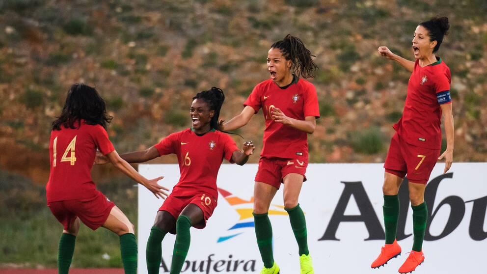 Portugal besegrade Sverige i Algarve Cup.