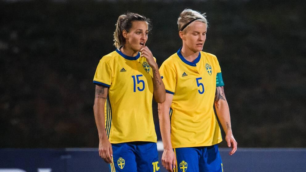 Sverige förlorade mot Portugal.