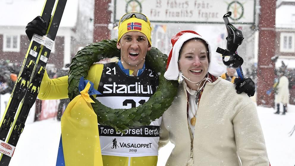 Tore Björseth Berdal vann Vasaloppet.