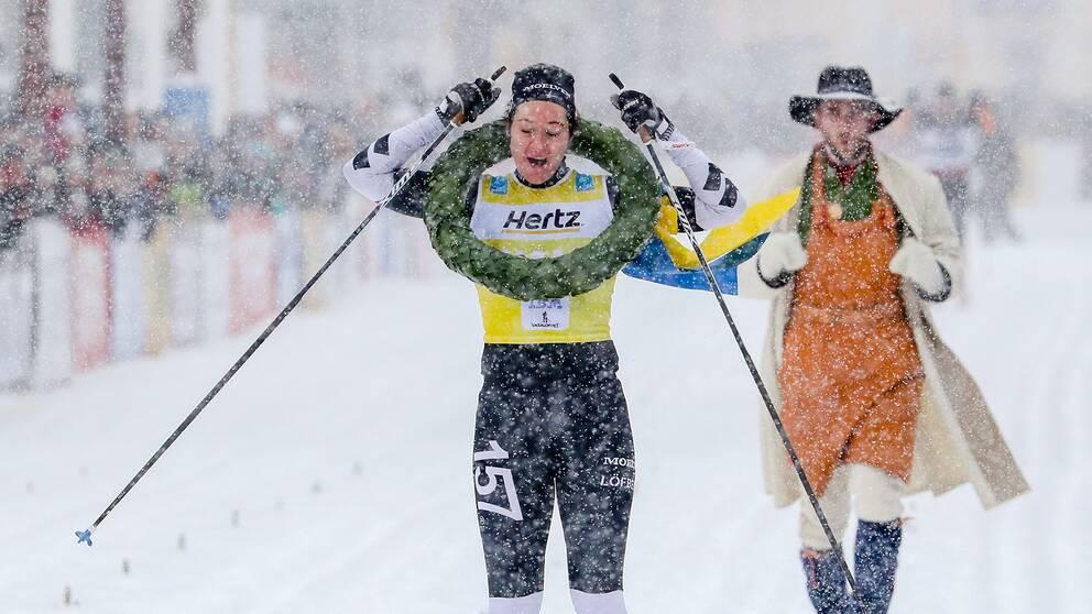 Britta Johansson Norgren vann damklassen i ensamt majestät.