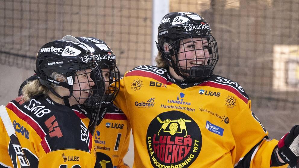 Luleå är ett av lagen som gör upp om SDHL-titeln.